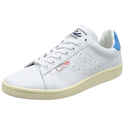 [スペルガ] スニーカー 4832-EFGLU S00C0E0 902 WHITE-BLUE EU 40(25.5cm)