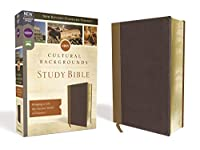 Holy Bible: Nrsv, Cultural Backgrounds, Tan/brown, Bringing to Life the Ancient World of Scripture