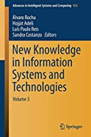 New Knowledge in Information Systems and Technologies: Volume 3 (Advances in Intelligent Systems and Computing)