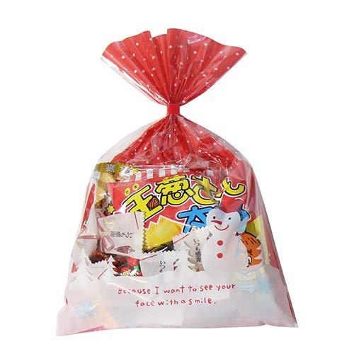 クリスマス袋 350円 お菓子 チョコレート 詰め合わせ(Gセット) 駄菓子 袋詰め おかしのマーチ
