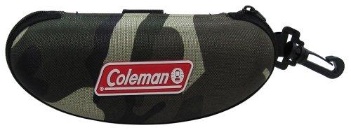 コールマン オリジナルサングラスケース ハード CO07 カーキ(カモフラージュ)