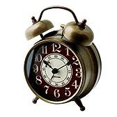 目覚まし時計 大音量 目覚し時計 めざまし時計 【MIRLO】 (ゴールド)