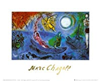 The Concert Fineアートポスター印刷by Marc Chagall、12 x 10