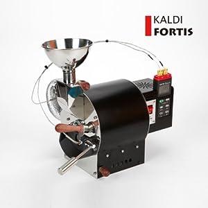 KALDI(カルディ) フォーティス コーヒーロースター/焙煎機(容量最大600g) (直火式+データーロギングデュアル温度計(Center306)) [並行輸入品]