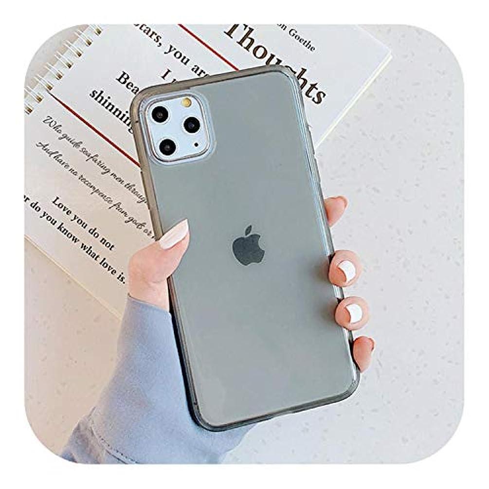 花輪ハードボートKdfjs 電話ケースiphone 11 11プロ最大X XR XS最大6 6 s 7 8プラスファッションクリアミラーアンチノックFrameSoft TPUのiphone X-black-for iphone 6s Plus
