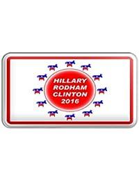 Hillary Rodham Clinton 2016 Democrat Donkey Metal Lapel Hat Pin Tie Tack Pinback