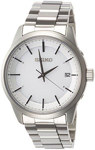 [セイコーウォッチ] 腕時計 セイコー セレクション ベーシックソーラー電波 ステンレスモデル SBTM251 メンズ シルバー