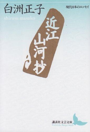 近江山河抄 (講談社文芸文庫―現代日本のエッセイ)の詳細を見る