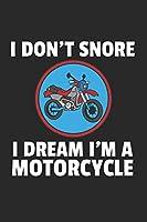 Motorrad Notizbuch: Motorrad Notizbuch fuer Liebhaber / Notizheft / Notizblock A5 (6x9in) Dotted Notebook / Punkteraster / 120 gepunktete Seiten
