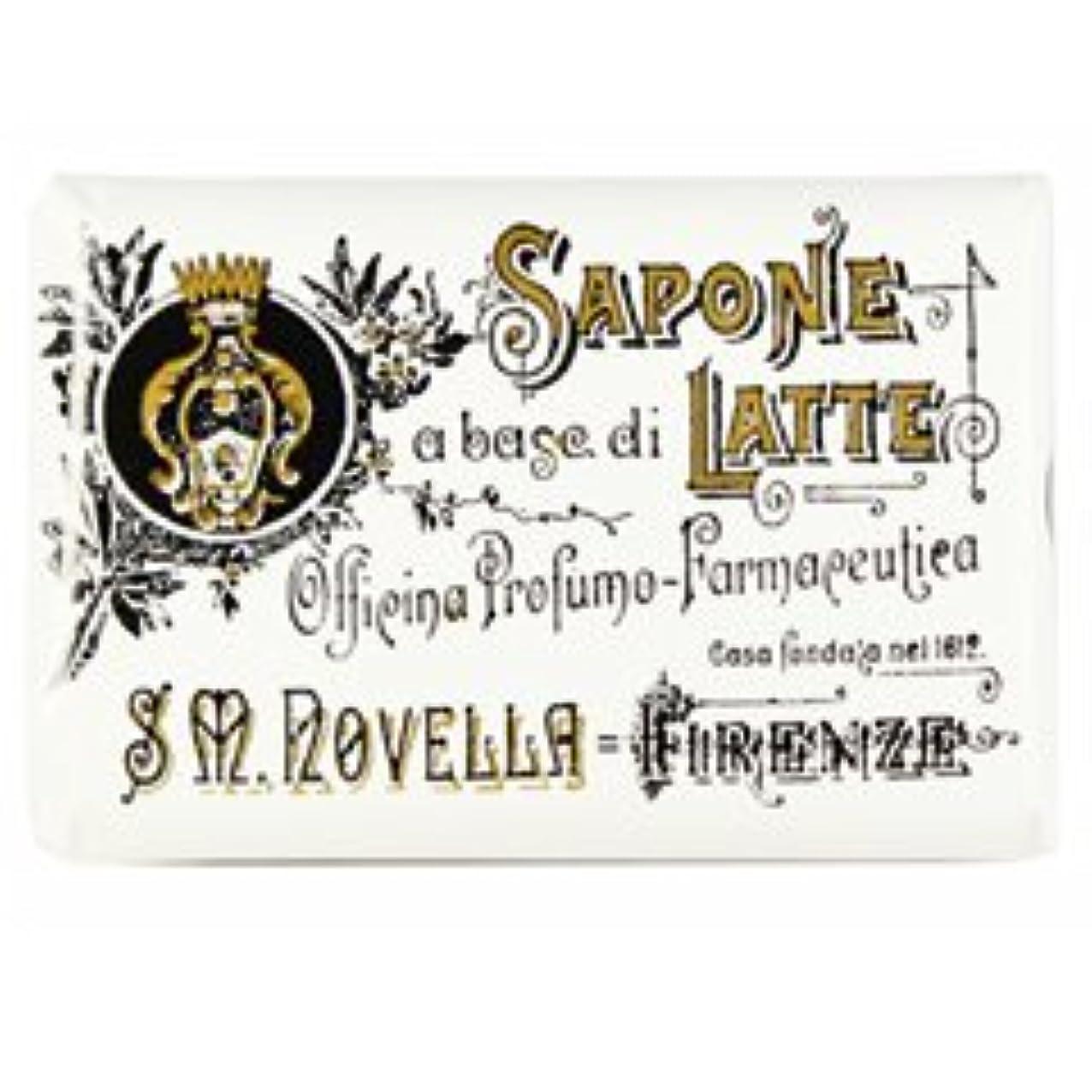 レオナルドダ大理石バナー【Santa Maria Novella(サンタマリアノヴェッラ )】ミルクソープ ビオレッタ 100g Milk Soap