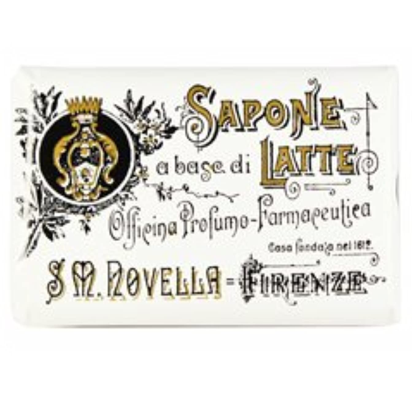 励起収縮こしょう【Santa Maria Novella(サンタマリアノヴェッラ )】ミルクソープ ビオレッタ 100g Milk Soap