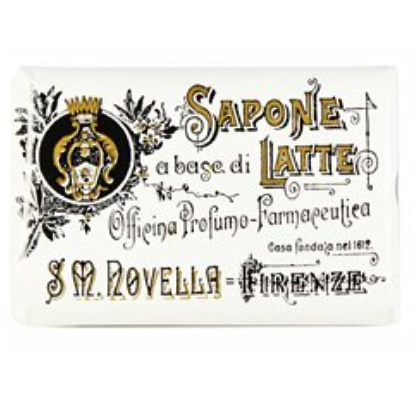 伝染性のチャーミング病者【Santa Maria Novella(サンタマリアノヴェッラ )】ミルクソープ ビオレッタ 100g Milk Soap