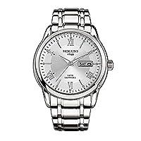 Gosasa光サファイアQuartz Watchウォッチメンズラグジュアリーブランドスポーツドレスビジネスファッション&カジュアル腕時計防水