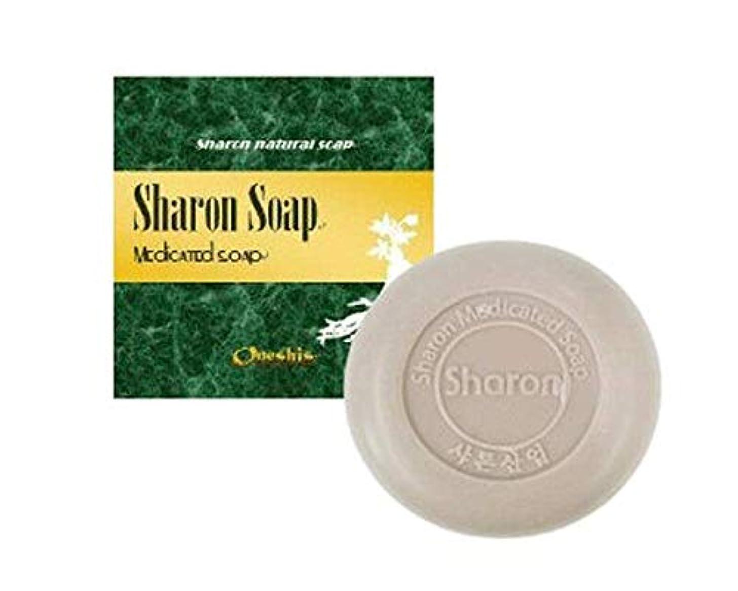 平行ひらめき退院Sharon Soap シャロンナチュラルソープ 天然由来植物成分 美肌石鹸