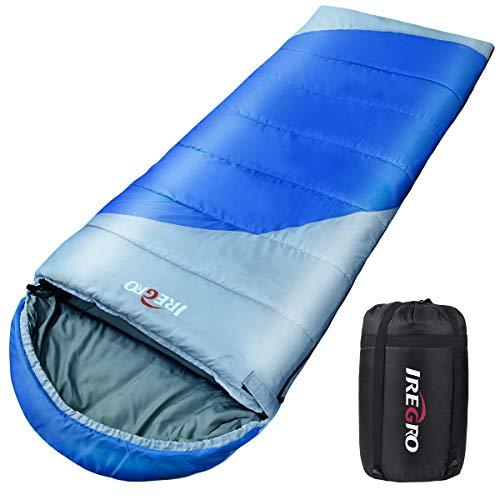 寝袋 Backture 封筒型 シュラフ スリーピングバッグ コンパクト 軽量 厚手 折り畳み 登山 アウトドア 車中泊 防災用 避難用 耐寒 最低使用温度-10度 高通気性 収納袋付き