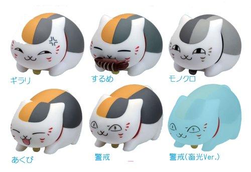 나츠메 우인장 냥코 선생 피규어 보틀 캡3 BOX- (2014-01-19)