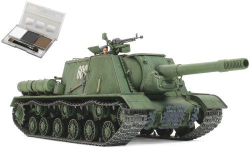 タミヤ スケール限定シリーズ 1/35 ソビエト 重自走砲 JSU-152  ウェザリングマスター付き  25126