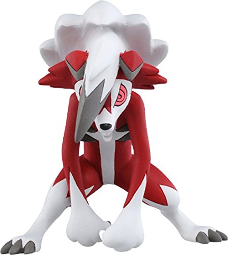Takara Tomy Pokemon Sun /& Moon Moncolle EX Figure ESP-09 Lycanroc Midnight New G