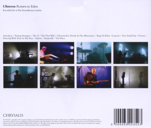 Return to Eden: Live at the Roundhouse
