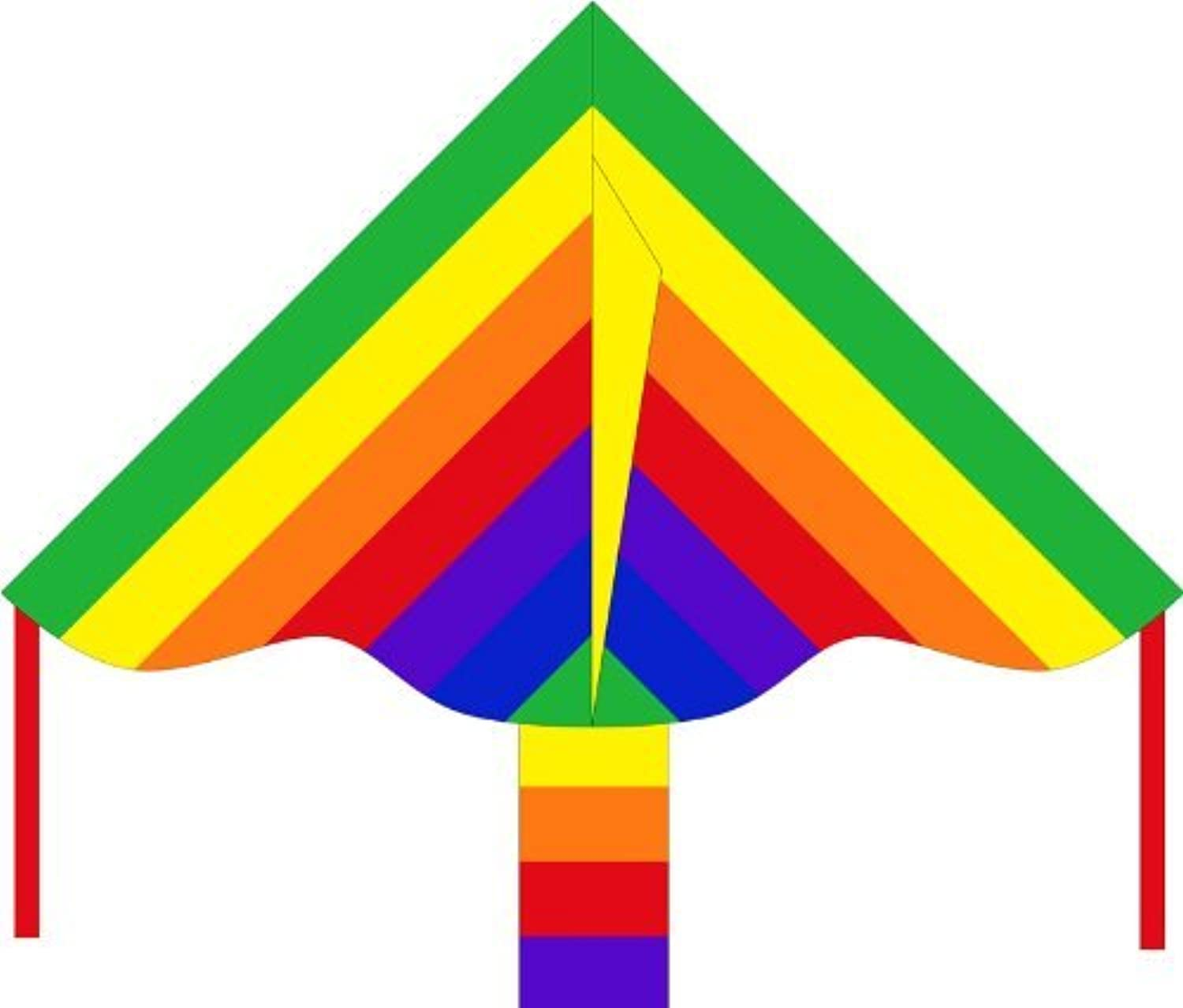 HQ Kites Eco Line: Simple Flyer Rainbow 33 Kite by HQ Kites and Designs [並行輸入品]