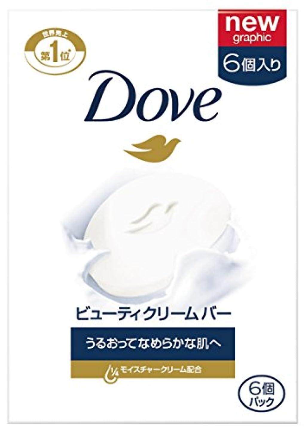 ハードリング想像する腹部Dove ダヴ ビューティクリームバーホワイト 95g×6個パック