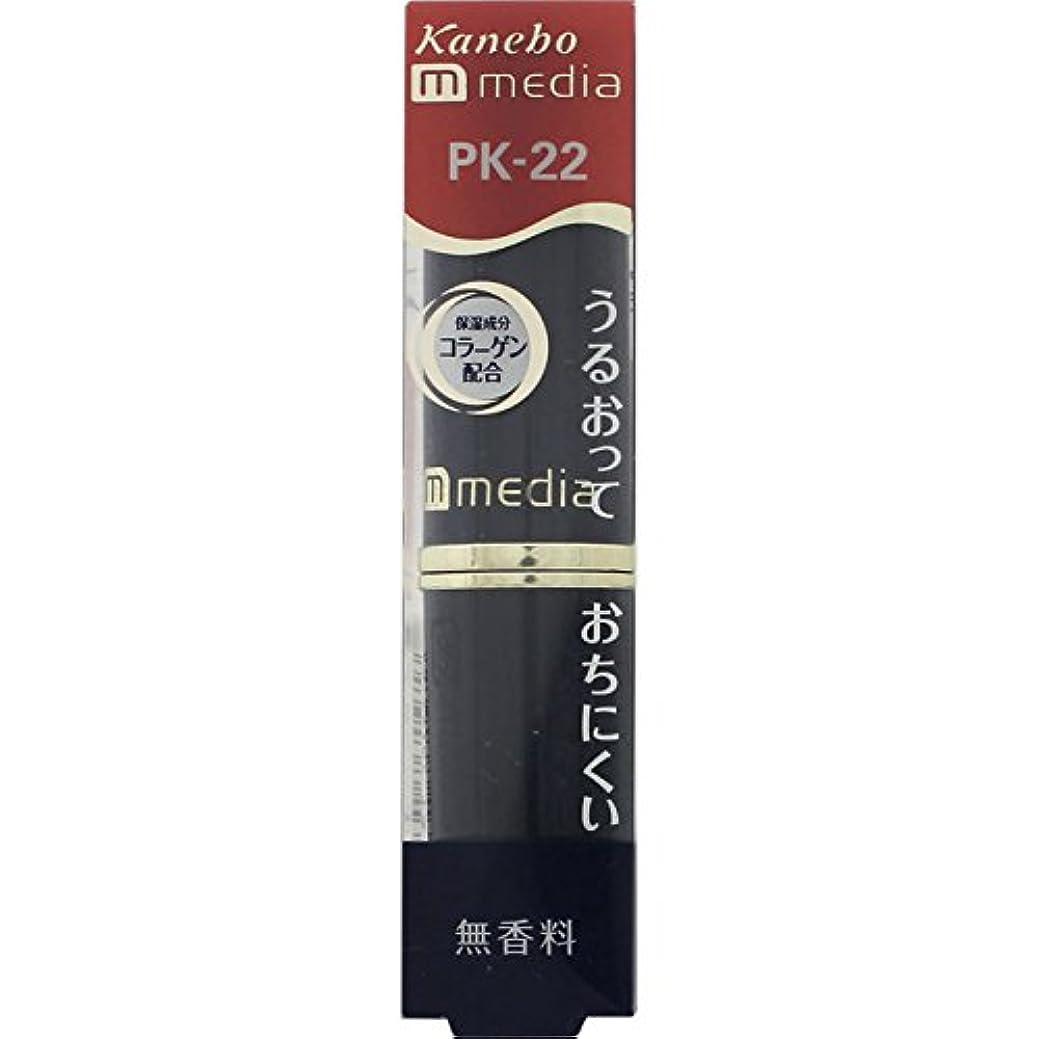 架空の覚醒家庭教師【カネボウ】 メディア クリーミーラスティングリップA PKー22