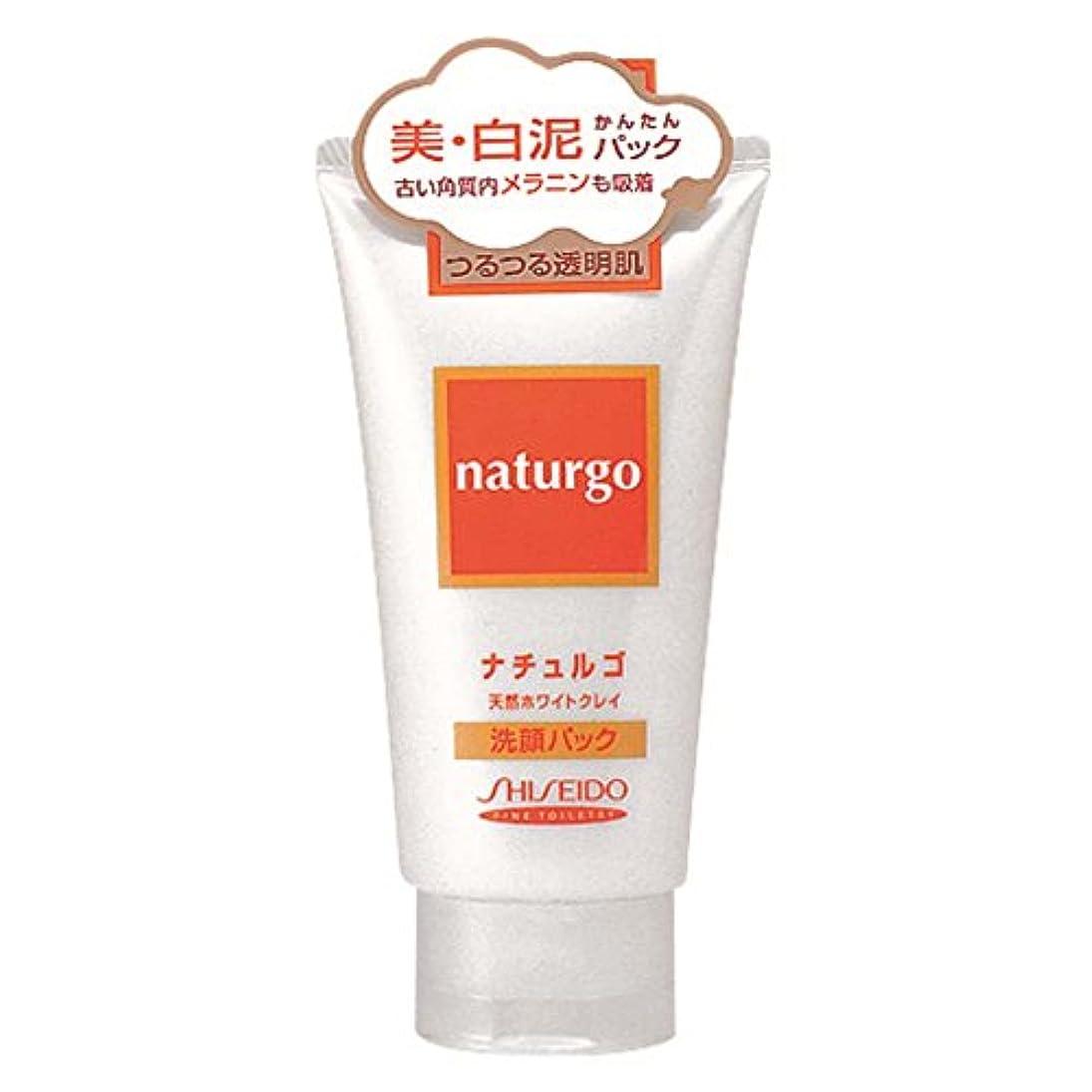 ブルブロー乳白【アウトレット品】ナチュルゴ 天然ホワイトクレイ洗顔パック