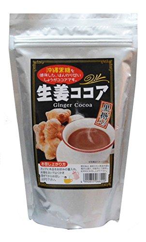 生姜ココア(パウダー)200g 沖縄黒糖使用