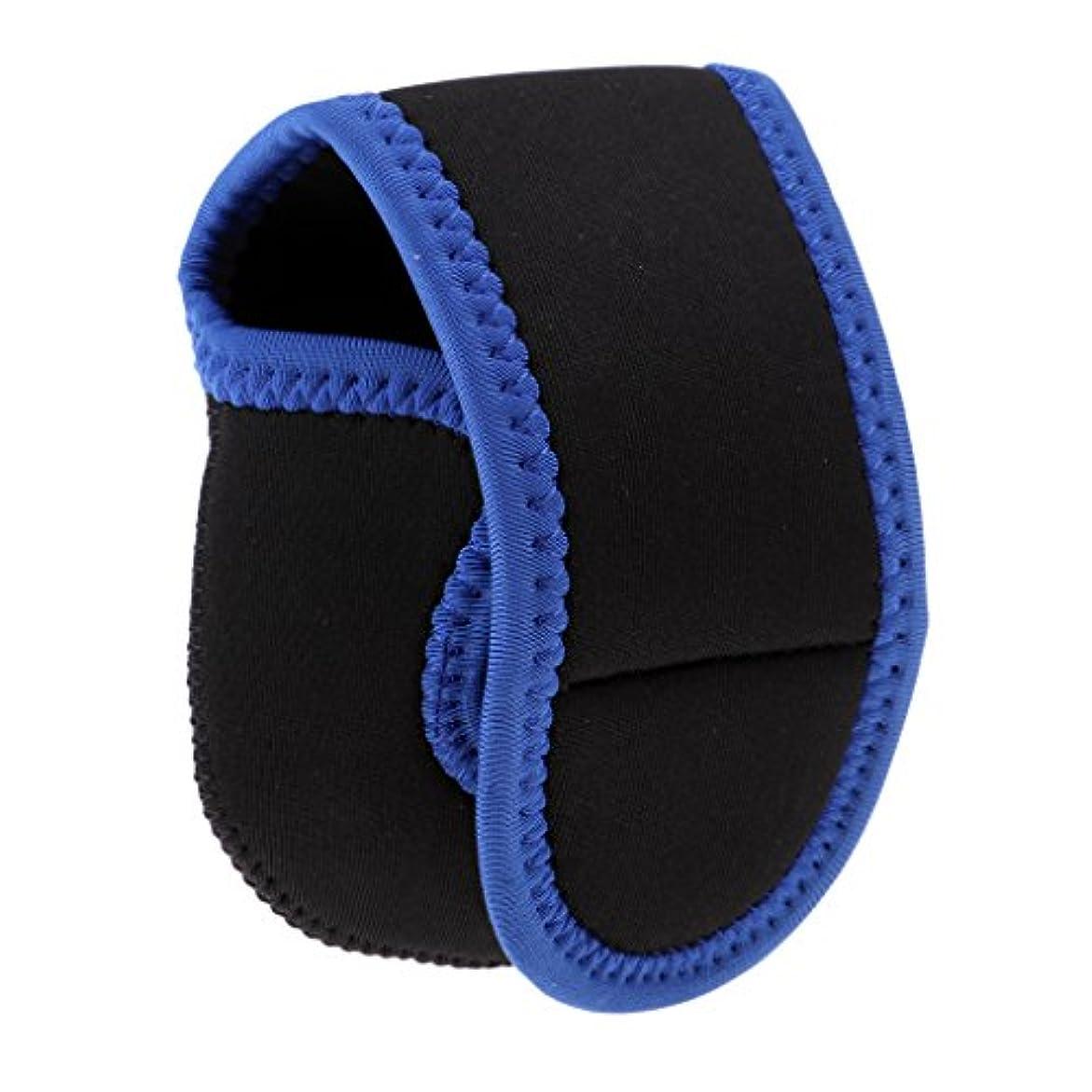 喜んで描く軽蔑Flameer リールバッグ ポーチ 保護ケース 軽量 青 ベイトキャスティングリールに適し 青