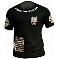 Ho-Stile[オスティーレ] 格闘技Tシャツ POWD-4 ピットカモ (黒)