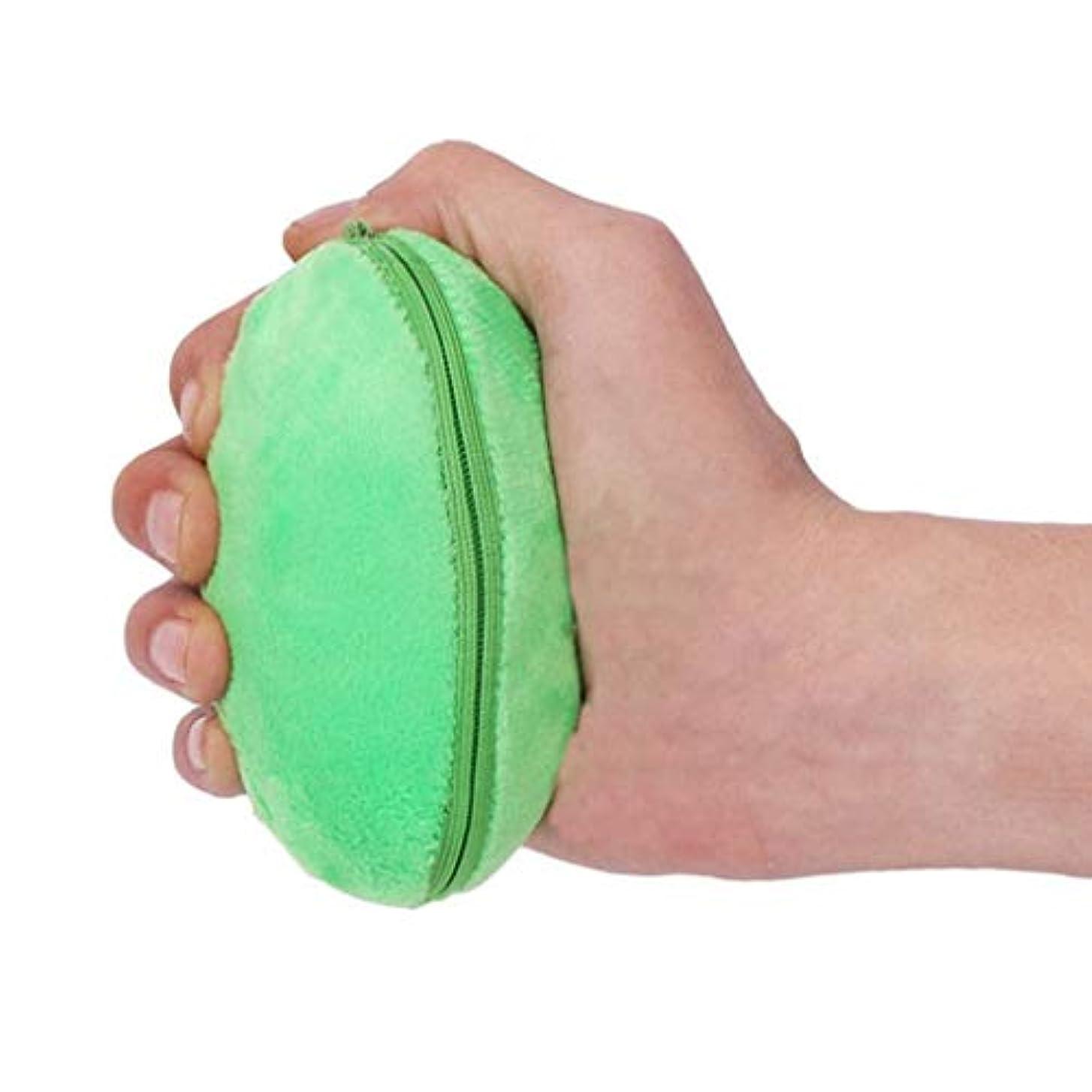 昨日群集多くの危険がある状況脳卒中リハビリテーショングリップボール、手首のボール通気性の布セットのマッサージ療法機器、高齢患者の指手首の運動グリップ