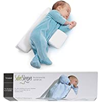 新生児赤ちゃん睡眠枕?スリープピロー 調整できるメモリスポンジ保持ブロック、転落防止、ベビーベッドや揺りかご、ベッドなどへの使用で赤ちゃんの安全を保証する
