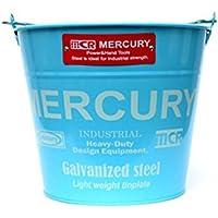 (マーキュリー) MERCURY ブリキバケツ レギュラー MEBUBR ブルー mercury-020-blue