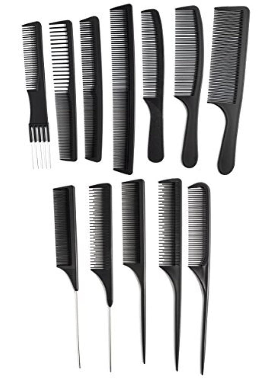 トチの実の木ペフクレーターOneDor Professional Salon Hairdressing Styling Tool Hair Cutting Comb Sets Kit [並行輸入品]
