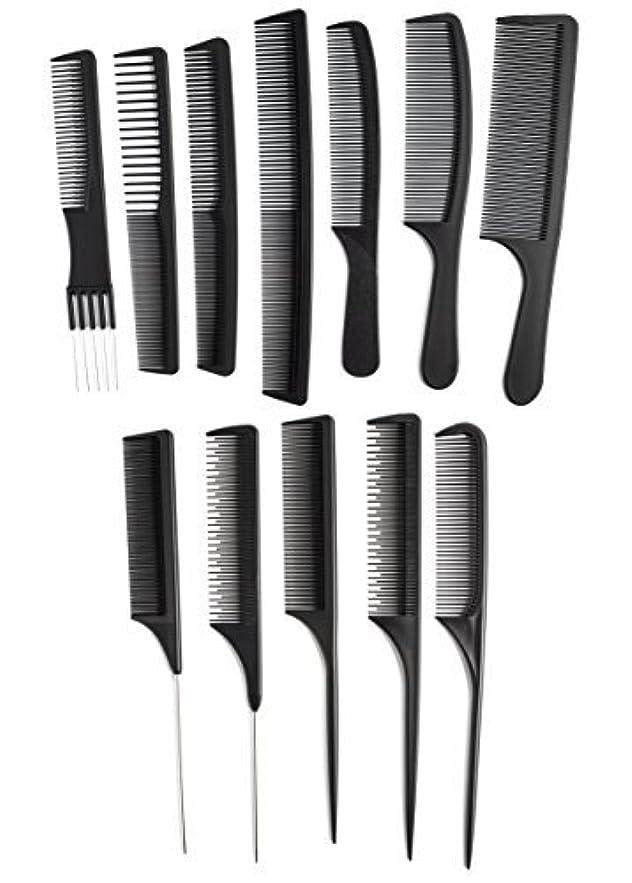 流暢ペグセミナーOneDor Professional Salon Hairdressing Styling Tool Hair Cutting Comb Sets Kit [並行輸入品]