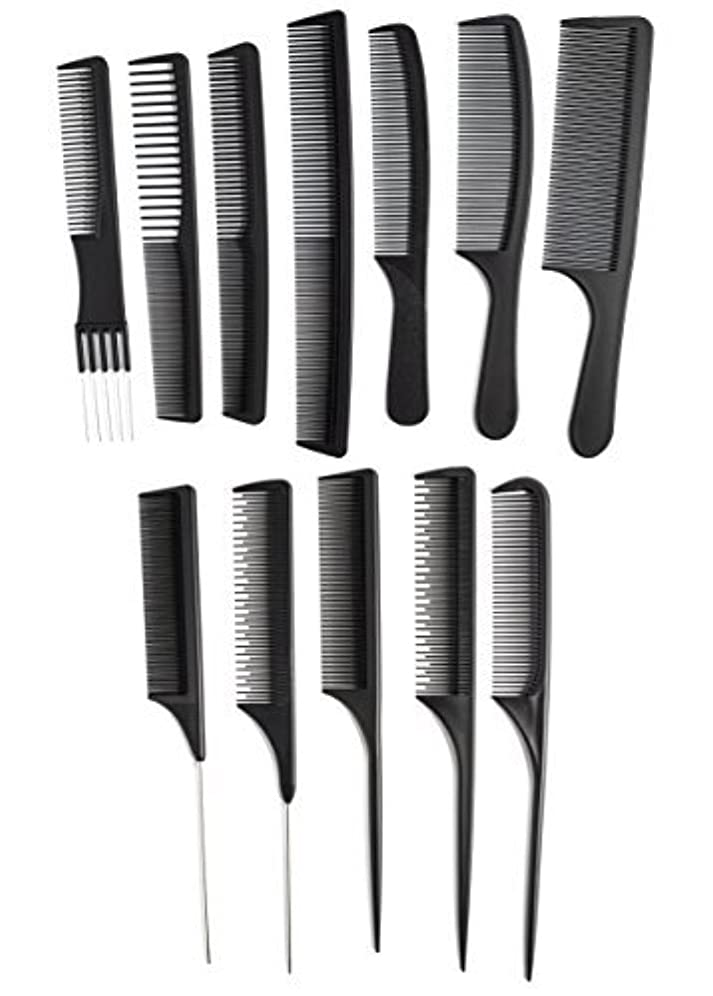 アナニバー作業絡み合いOneDor Professional Salon Hairdressing Styling Tool Hair Cutting Comb Sets Kit [並行輸入品]