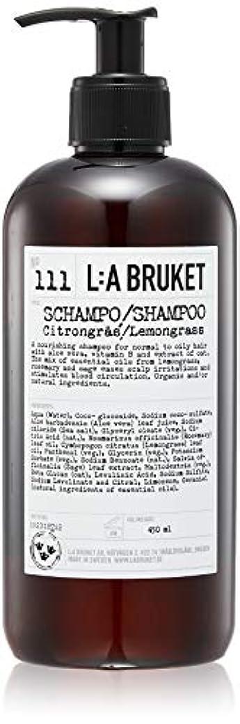 広まった病んでいる寄託L:a Bruket (ラ ブルケット) シャンプー (レモングラス) 450ml