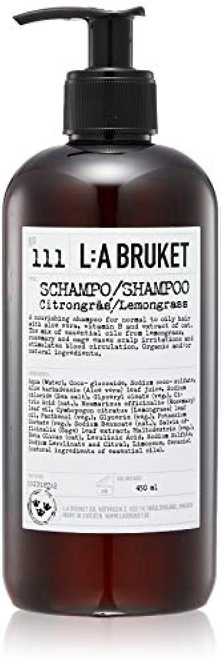 虚偽思い出有名なL:a Bruket (ラ ブルケット) シャンプー (レモングラス) 450ml