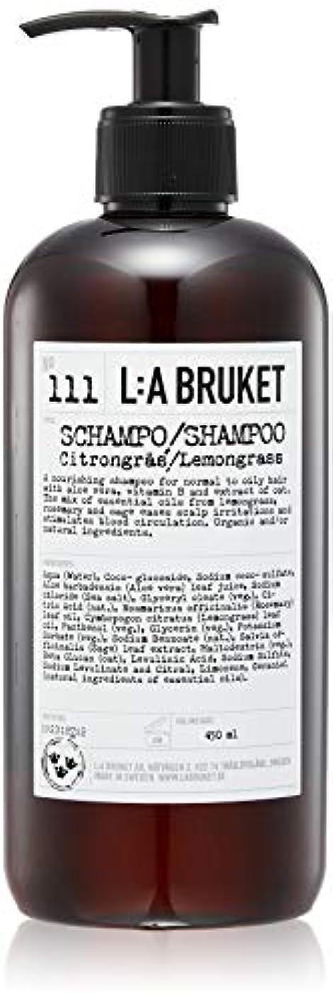 各開拓者アニメーションL:a Bruket (ラ ブルケット) シャンプー (レモングラス) 450ml