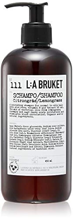 ラベンダー湖失態L:a Bruket (ラ ブルケット) シャンプー (レモングラス) 450ml