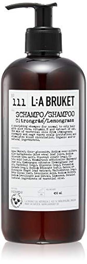 個人ナイトスポットウェイターL:a Bruket (ラ ブルケット) シャンプー (レモングラス) 450ml