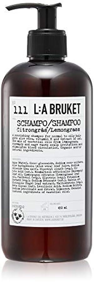 減る断片遠足L:a Bruket (ラ ブルケット) シャンプー (レモングラス) 450ml