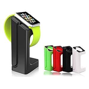 【Imarku】apple watch スタンド38mm / 42mm 対応 アップルウォッチ スタンド/充電クレードルドック/チャージャースタンド/チャージドック/充電スタンド 【White】