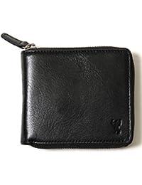 (コーエン) COEN 財布 イタリアンレザージップウォレット 75836078003 0900 BLACK(09) FREE