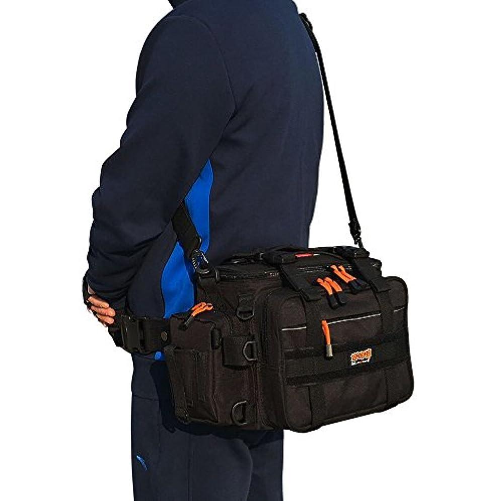 大統領想起楽しむBENYUE フィッシングバッグ 多機能 大容量 軽量性 防水性 釣り用バッグ ウエストバッグ 釣り用 ショルダーバッグ 釣り道具収納バッグ