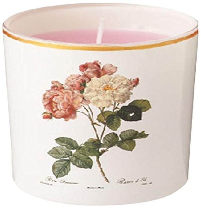 ゆるい花輪代理店ルドゥーテ グラスキャンドル 「 クラシックローズ 」 A2140520