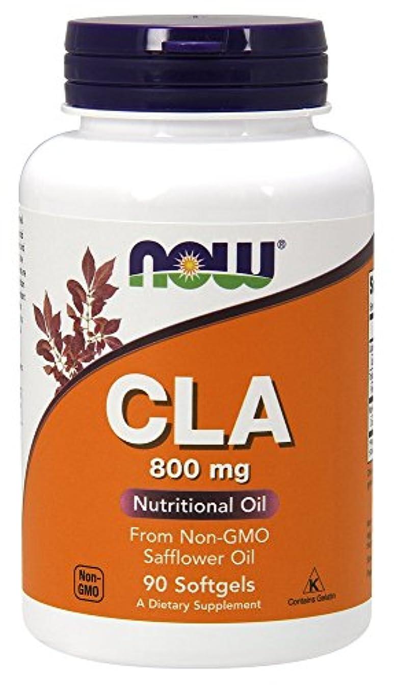 インタビュー計り知れない見捨てる[海外直送品] ナウフーズ CLA 800 mg 90 Sgels by