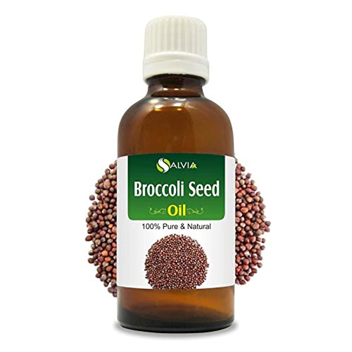死すべきインキュバスアーティストBroccoli Seed Oil (Brassica oleracea var. italica) 100% Natural Pure Undiluted Uncut Carrier Oil 100ml