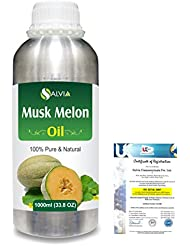 Musk Melon (Cuvumis Melon) 100% Pure Natural Carrier Oil 1000ml/33.8fl.oz.