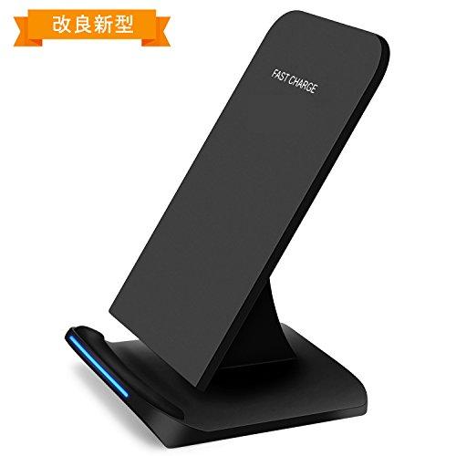 Xingmeng QI急速ワイヤレス充電器 USBケーブル付き...